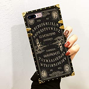 YaoLang iPhone 8 Plus Ouija Board TPU Case (2017)/iPhone 7 Plus Case (2016) 5.5 Inch for Girls Women Teens