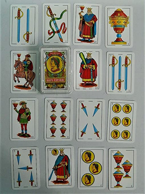 Carte Espagnole Jeu.Mas Jeux Cartes A Jouer Espagnoles Naipes Baraja Espanola