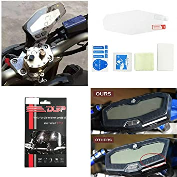 Cluster Scratch Protection Film Screen Protector for 2013-2018 Yamaha FZ MT 09