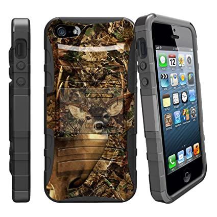 free shipping 1f0c5 58f32 Amazon.com: [Apple iPhone SE Holster Case| iPhone 5 & 5s case][Clip ...