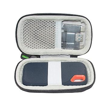 LUYIBA Duro Viajar Caso Cubrir para SanDisk Extreme Portable SSD ...