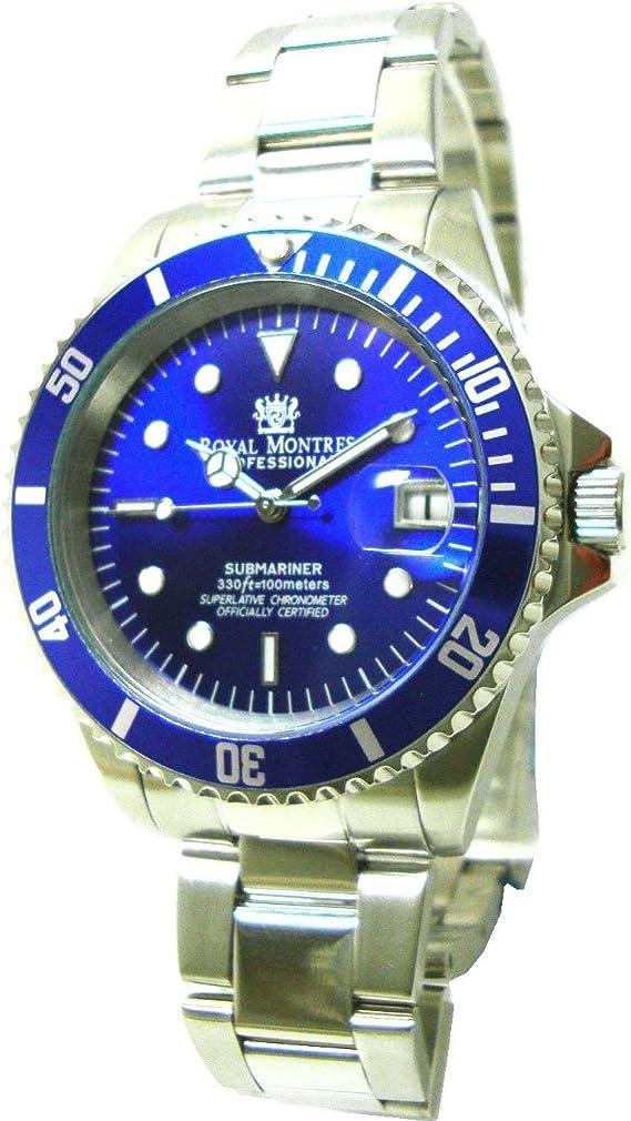 [ロイヤルモントレス] 腕時計 RM-0006 BLSV シルバー