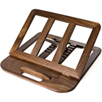 HITTITE Wooden Laptop Stand, Wood Laptop Stand & Holder & Riser, Wooden MacBook Stand Portable Wood for Home & Office…