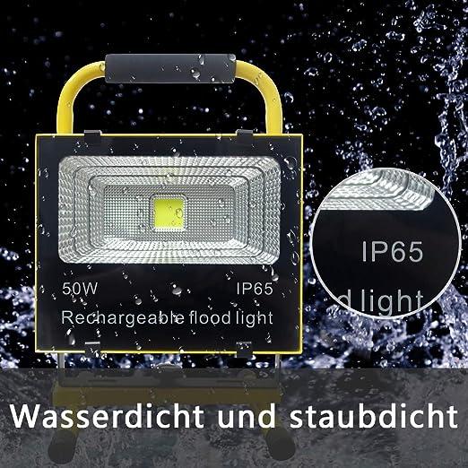 Froadp Foco LED de trabajo con bater/ía
