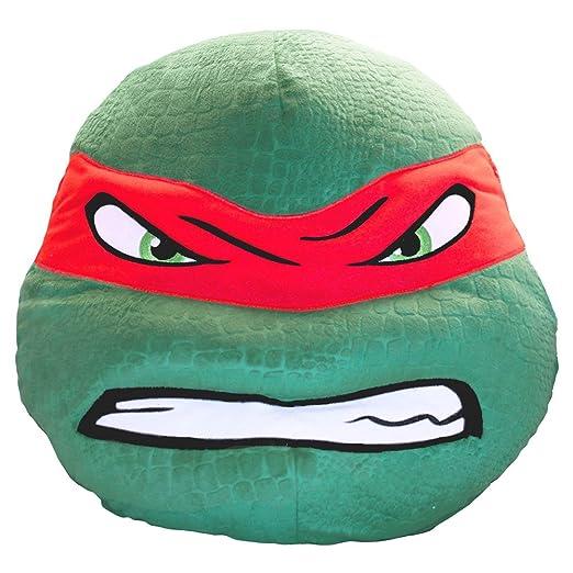 Raphael de las Tortugas Ninja: Plush Pillow: Amazon.es: Hogar