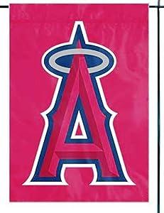 Party Animal Angels Premium Garden Flag Applique Embroidered Outdoor Banner Baseball