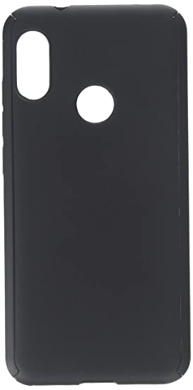 kwmobile Cover for Xiaomi Redmi 6 Pro/Mi A2 Lite - Shockproof Protective  Full Body Case with Screen Protector - Metallic Black
