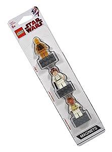LEGO Star Wars Magnet Set C-3PO, Princess Leia, Admiral Ackbar