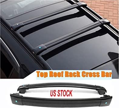 Amazon Com Motorfansclub Roof Rack Cross Bars Fit For Compatible With Jeep Cherokee 2014 2019 Crossbars Cargo Luggage Rack Rail Aluminum Doesn T Fit Grand Cherokee Automotive