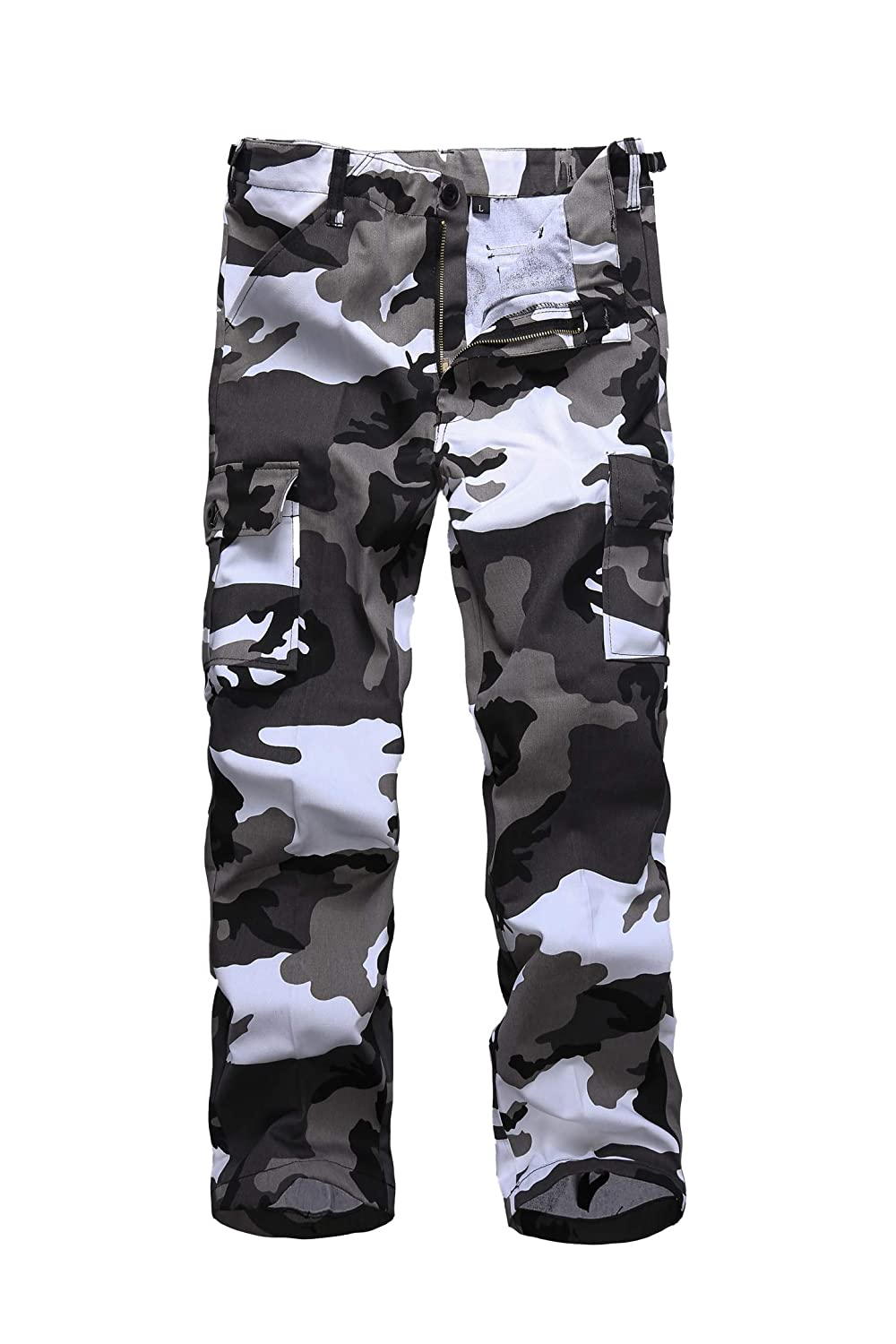 BACKBONE Boys Girls Kids Combat Army Ranger Camping Outdoor camo Cargo Pants Trousers