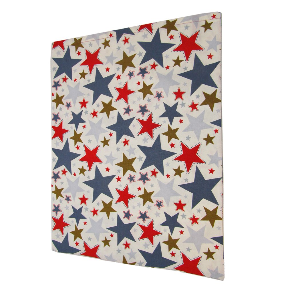 Stars II Reusable Fabric Gift Bag for Birthday, Graduation, or Any Occasion (Large 20 Inches Wide by 27 Inches High) by VZWraps (Image #5)