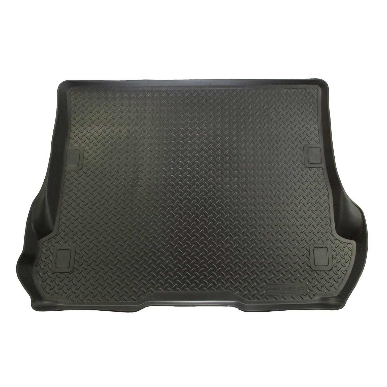 Rubber floor mats nissan pathfinder 2013 - Amazon Com Husky Liners Custom Fit Rubber Cargo Liner For Select Nissan Pathfinder Models Black Automotive
