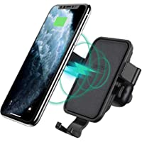 CHOETECH Wireless Car Charger, Fast Gravity Wireless Car Charger Holder 7.5W Compatible with for iPhone 11 Pro Max XR Xs Max X 8 Plus, 10W Fast-Charging Galaxy S10 S9 S8, Note 10 Note 9 and More