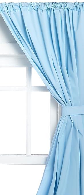 Amazon.com: Carnation Home Fashions Vinyl Bathroom Window Curtain ...