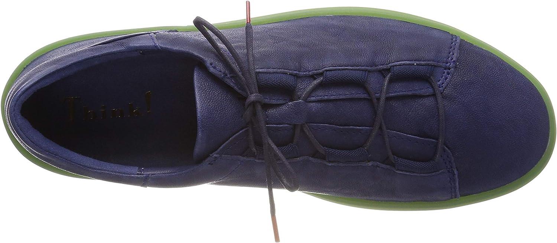 Think! Damen Gring_484092 Sneaker Blau Indigo Kombi 90