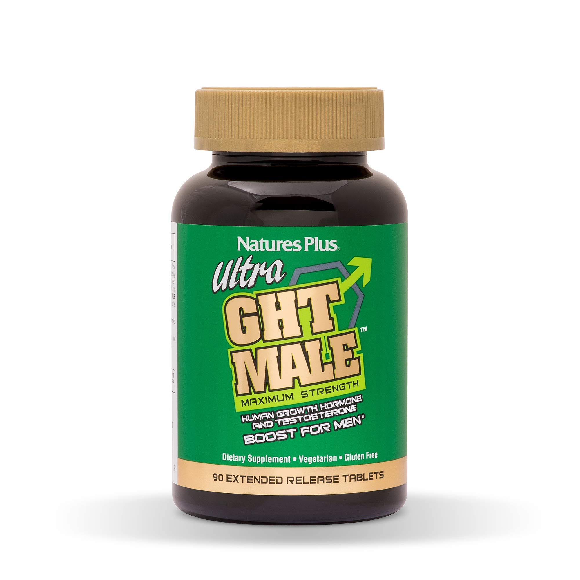 NaturesPlus Ultra GHT Male Extended Release Bilayer Tablets