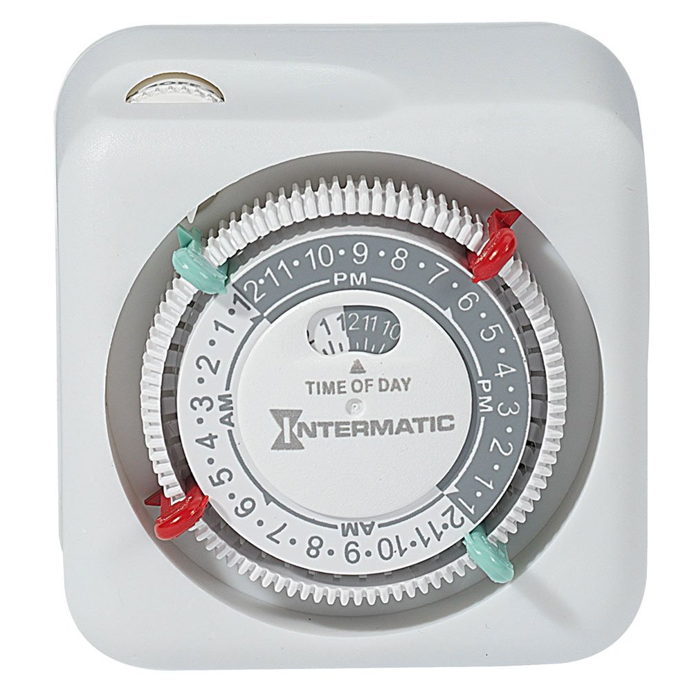 Intermatic TN111K 15-Amp Lamp and Appliance Timer by Intermatic