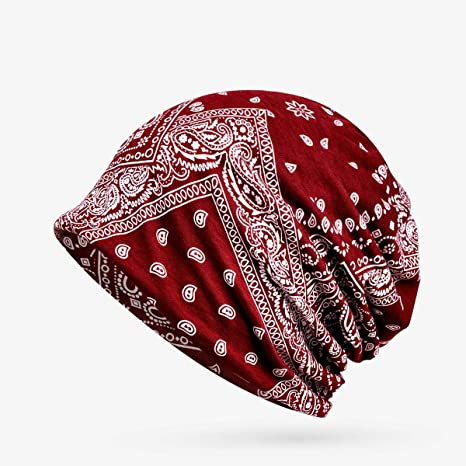 Amazon.com: Blue Stones Winter Hats for Women Men Turban Hat ...
