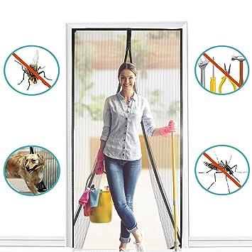 Cool BALFER Magnet Fliegengitter Tür Insektenschutz Vorhang 90x210cm  CU05