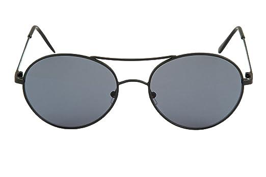 bcc4c6569679f Eligo - Lunettes De Soleil HARRY pour homme et femme, style aviateur,  monel, plaques en maillechort lentille cr39-033 - Acier - UNI  Amazon.fr   Vêtements et ...