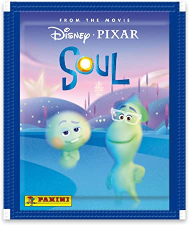 Panini France SA-Soul 003923BOX50F - Caja de 50 Bolsillos, Color Azul