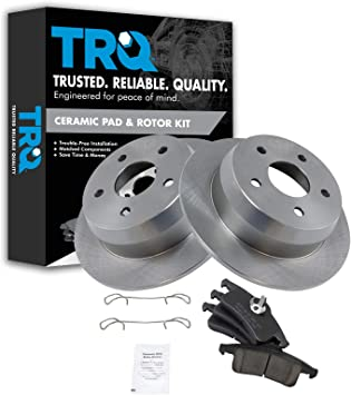 Front and Rear Brake Discs Rotors /& Ceramic Pads For 99-04 Jeep Grand Cherokee