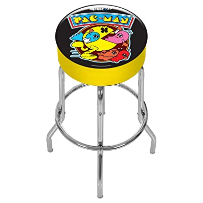 Pac-Man Adjustable Stool - Arcade Gaming: Toys & Games