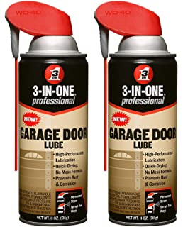 Best Garage Door Lubricant >> 3 In One Professional Garage Door Lubricant With Smart Straw Sprays