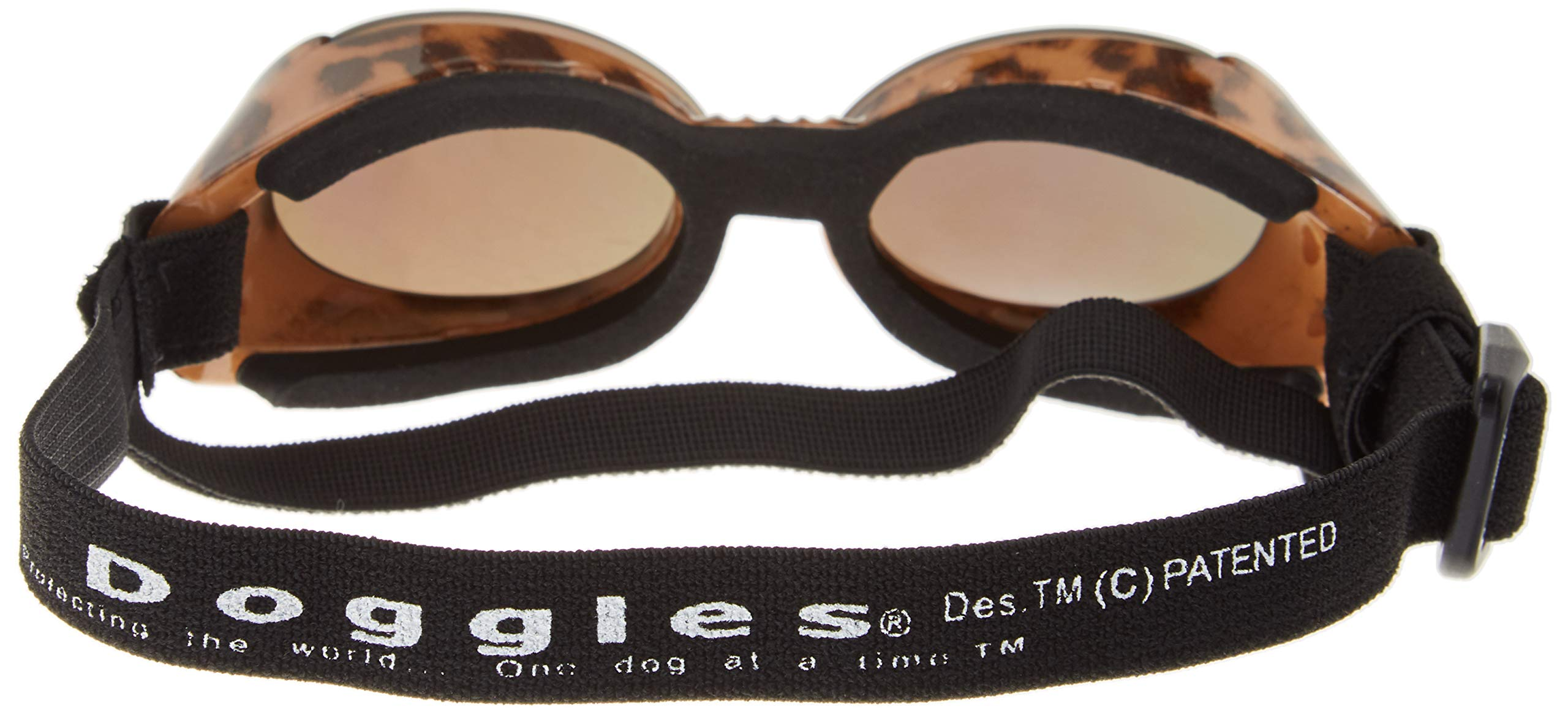 Doggles ILS Small Leopard and Smoke Lens by Doggles