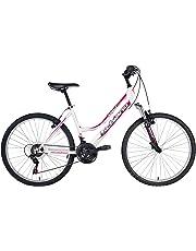 F.lli Schiano Integral Shimano 18V Fork Suspension Bicicletta Donna, Bianco/Viola