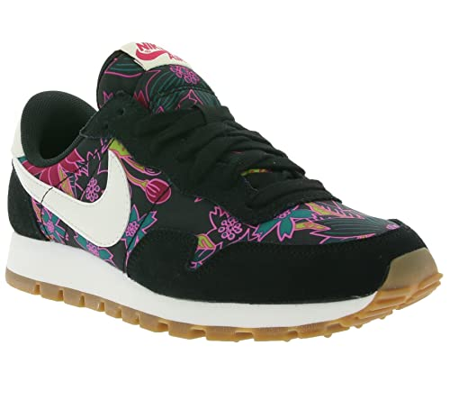 reputable site 89a41 7e55a Nike Air Pegasus '83 Print Ladies Trainers Black 725079 002: Amazon ...