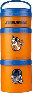 Whiskware Star Wars Stackable Snack Pack Stocking Stuffer, 2 1/3 cups, R2-D2 & BB-8