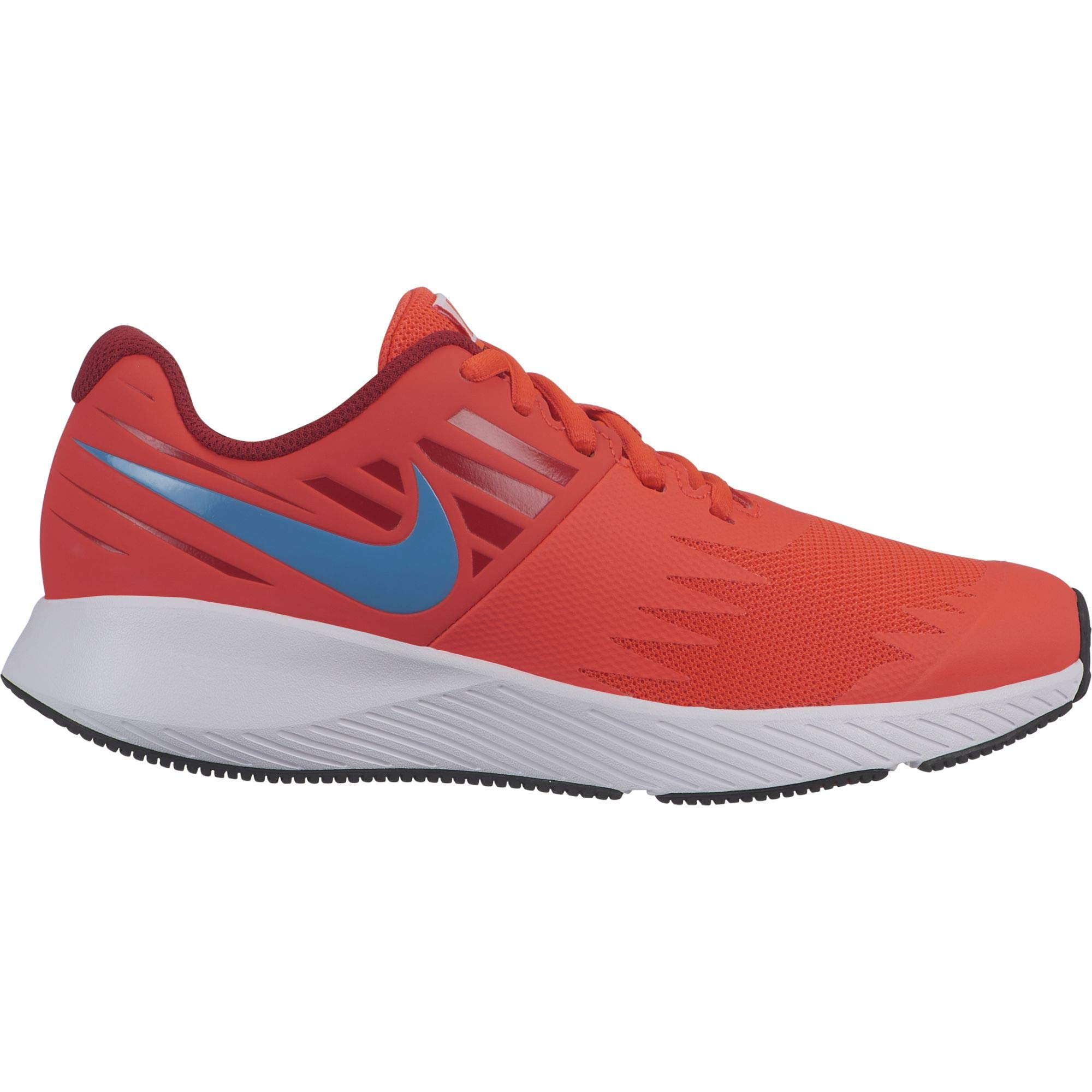 Nike Boy's Star Runner (GS) Running Shoe Bright Crimson/Blue Lagoon/Gym Red/White Size 3.5 M US by Nike (Image #1)