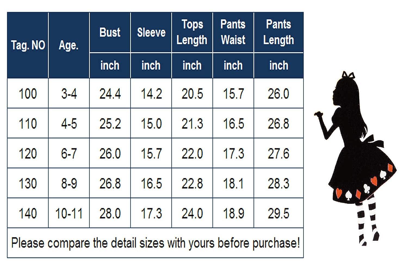 Balasha Little Girls Unicorn Clothing Sets Long Sleeve Boutique Birthday Outfits 2 PCS Tops Pants