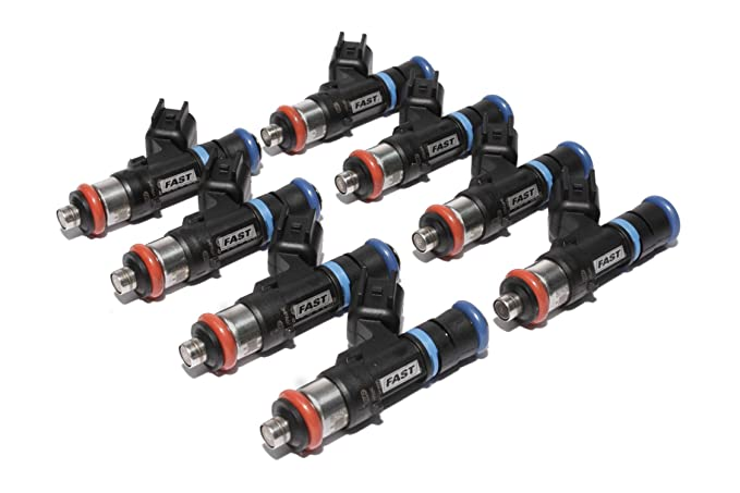 FAST 30462-8 Precision-Flow 46 lb/hr 483cc/min High-Impedance Fuel Injector  for LS2, (Set of 8)