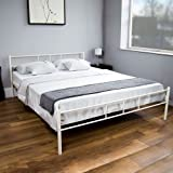 Home Discount Dorset Bed Double 4ft6, White
