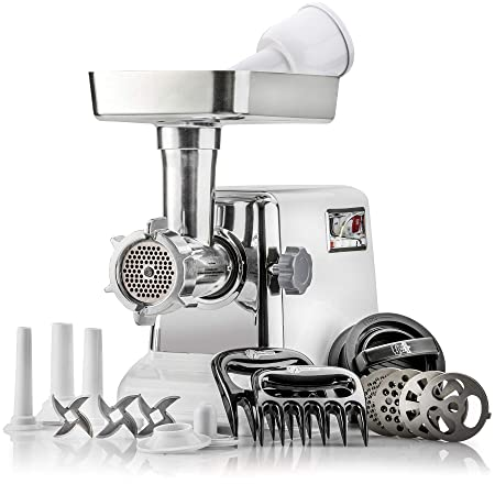 3. Powerful STX Turboforce Classic 3000 Series Electric Meat Grinder