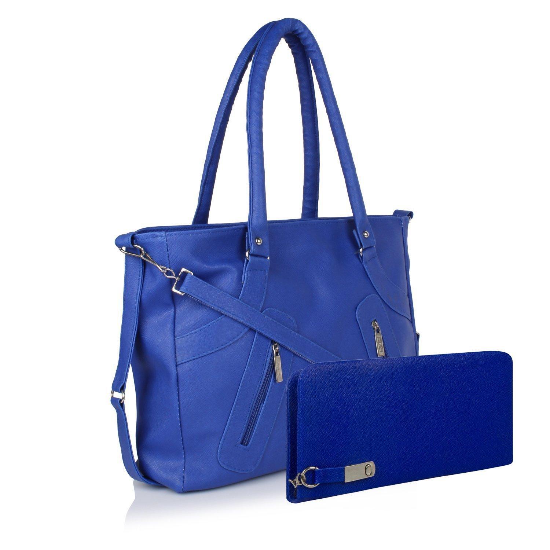 Women's Handbag And Wallet Clutch Combo