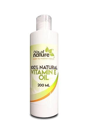 Aceite de vitamina E Natural – Método Natural de extracción por presión de frío – Ideal