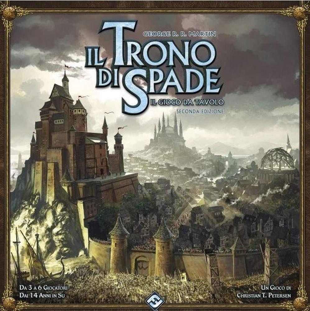 9075 Asmodee Italia Il Trono di Spade Il Gioco da Tavolo 2nd Edizione