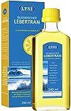 LYSI ISLÄNDISCHER LEBERTRAN mit den Vitaminen A, D und E, Zitronengeschmack, 240ml, Isländischer Lebertran von höchster Qualität für ein gestärktes Immunsystem