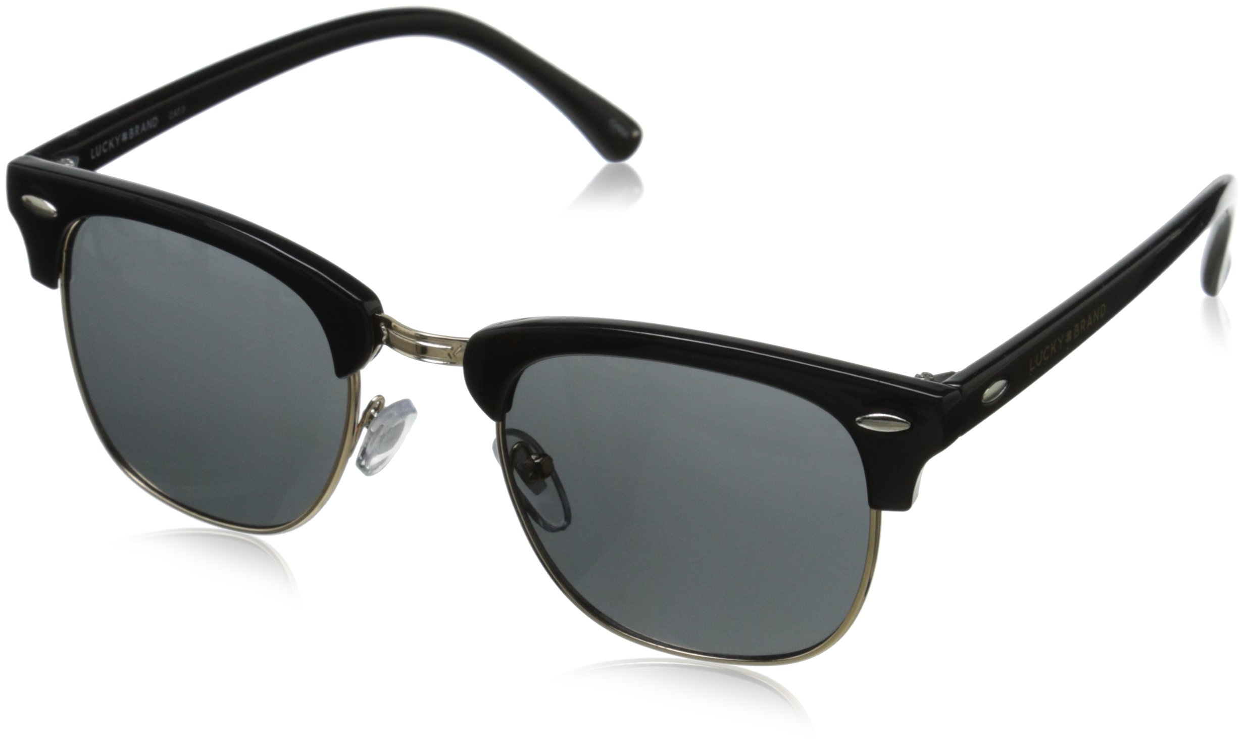 Lucky Unisex-Adult D901bla50 Cateye Sunglasses, BLACK, 50 mm