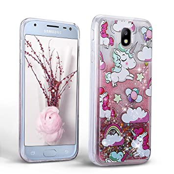 coque galaxy j5 licorne