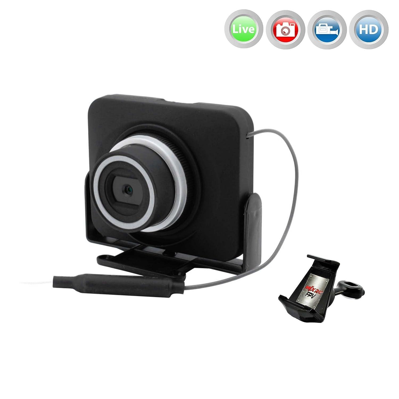 MJX C4018 neu überarbeitete Action Cam FPV Live Übertragung WIFI 720p HD-Kamera-Set auf Smartphone/Tablet für Mjx Quadrocopter X101,X102H,X600,X600H, unterstützt jetzt 3D VR Brille, App-Steuerung, Flightplan, usw..