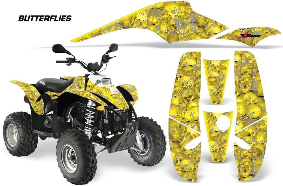AMR Racing Graphics Kit for ATV Polaris Sportsman 400/500/600/700 ...