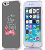 Iphone 6S Case Christian Quotes, Apple Iphone 6S Case Bible Verses Philippians 4:13 I Can Do All Things Through Him Who Gives Me Strength