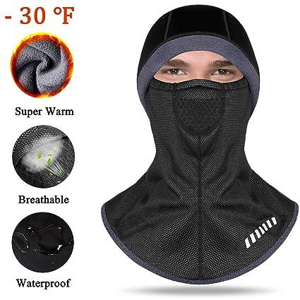 Amazon.com  ANSOWQM Balaclava Face Mask 25d4f7528a63