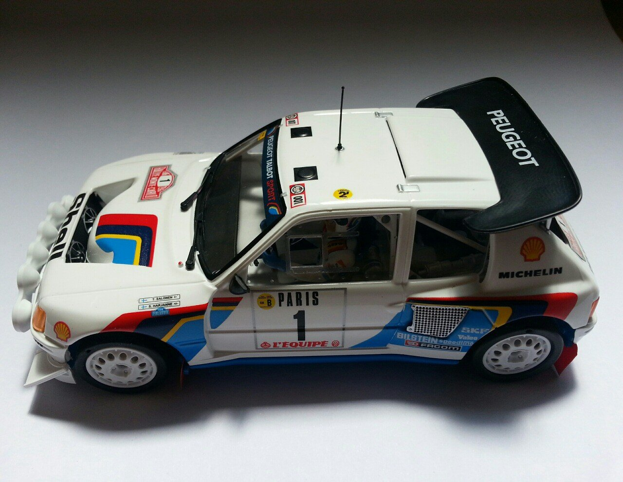 SRC 03701 Peugeot 205 T16 Evo2 Rally Montecarlo 1986 Timo Salonen - S. Harjanne: Amazon.es: Juguetes y juegos