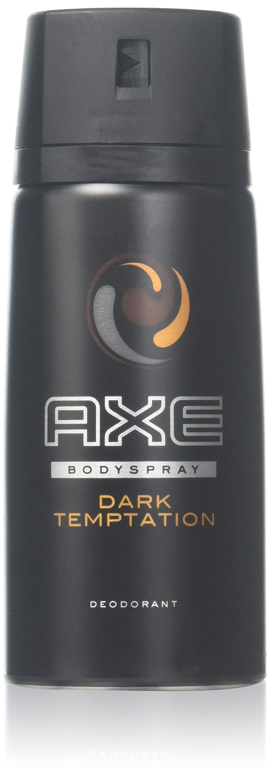 Axe Body Spray Dark Temptation 4Ounce - 4 Pack by AXE