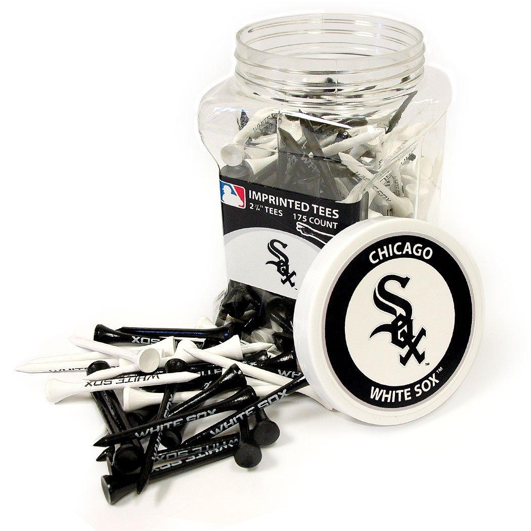 Team Golf MLB Chicago White Sox 2-3/4'' Golf Tees, 175 Pack, Regulation Size, Multi Team Colors